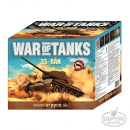 CLE4055 WAR OF TANKS 36mm 35s 2/1 F3