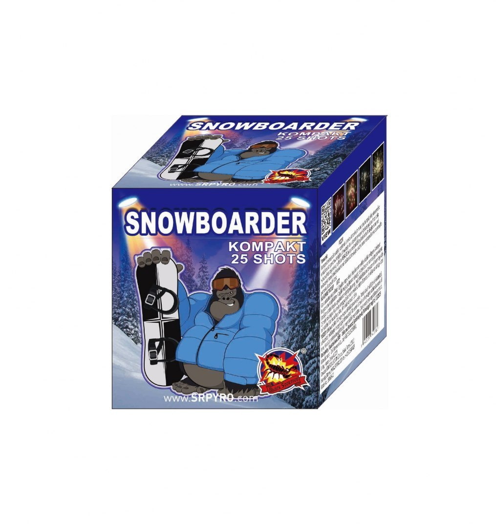CLE4028 SNOWBOARDER 20mm 25s 12/1 F2